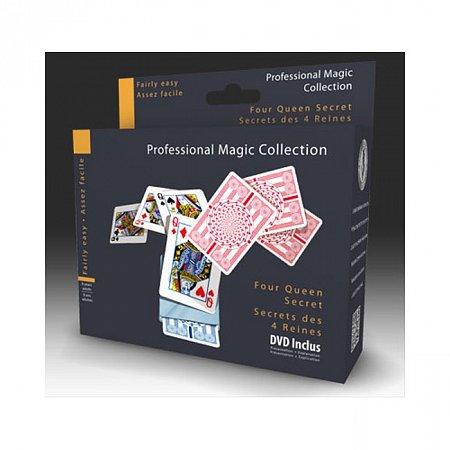 Набор для фокусов Oid Magic Карты - Тайна четырех Дам с DVD