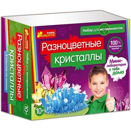 Разноцветные кристаллы. Ранок 0308-1