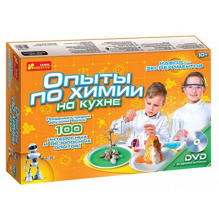 Опыты по химии на кухне. Ранок 0330