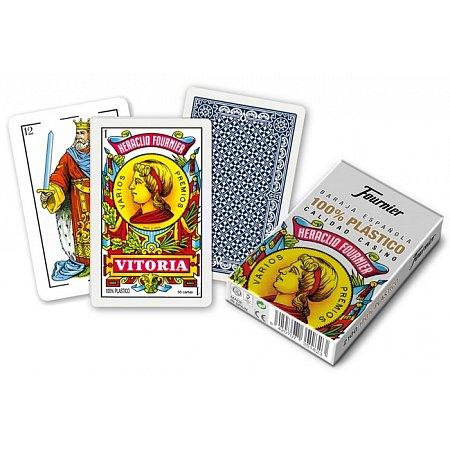 Пластиковые карты Fournier 2100 (Испанская колода), 35128
