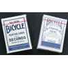 Карты Bicycle Seconds Standard Index Blue