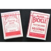 Карты Bicycle Seconds Standard Index Red