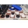 """Игровой комплект """"Шашки, шахматы"""", поле картон"""