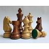 Деревянные шахматные фигуры Немецкий Стаунтон №6 (Шишам, Самшит), Индия