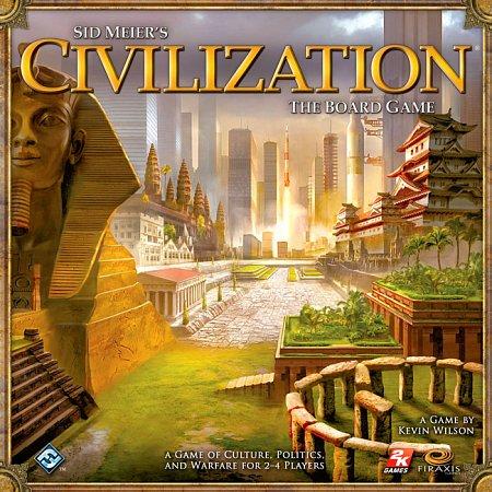 Настольная игра Цивилизация Сида Мейера (1112)