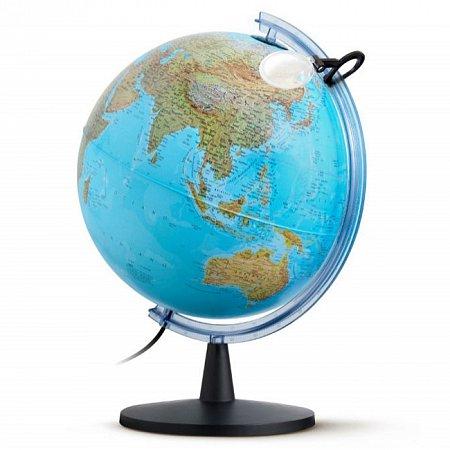 Глобус с подсветкой Фалкон, 40 см (Рус. язык, физический/политический), Tecnodidattica 4518