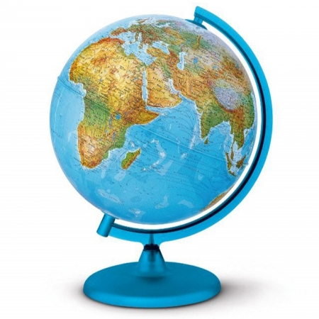 Глобус с подсветкой Орион, 25 см (Рус. язык, физический/политический), Tecnodidattica 5106