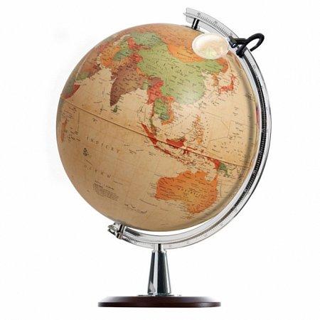 Глобус с подсветкой Коломбо, 40 см (Рус. язык, политический), Tecnodidattica 5109