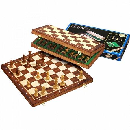 Шахматы De Luxe, 41х20х5 см. Philos 2610