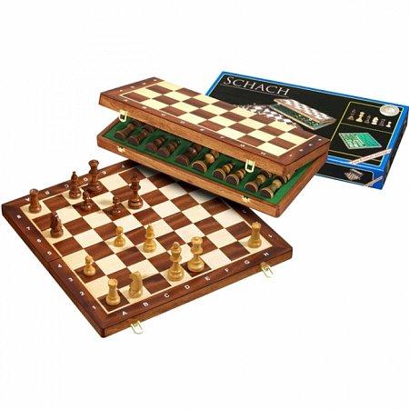 Шахматы De Luxe, 47,5х23,5х5,2 см. Philos 2611
