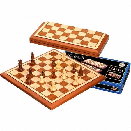 Шахматы Belgrad, магнитные, 40х20х5,5 см. Philos 2613