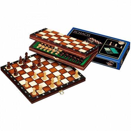 Шахматы дорожные, 26,5х13х4 см. Philos 2702