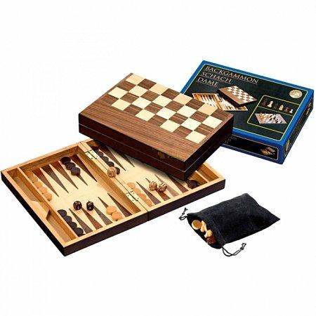 Набор Шахматы-Нарды, 27,5х19,5х5,2 см. Philos 2508