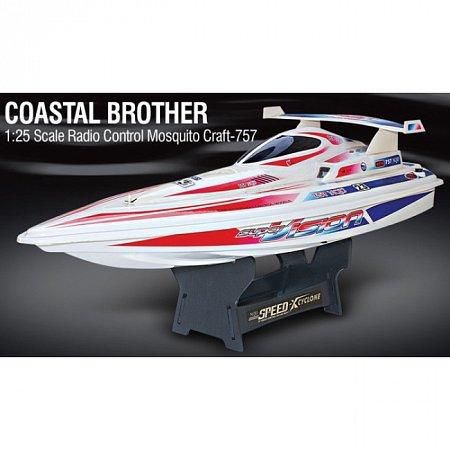 Радиоуправляемый катер Coastal Brother, NQD-757T-6015