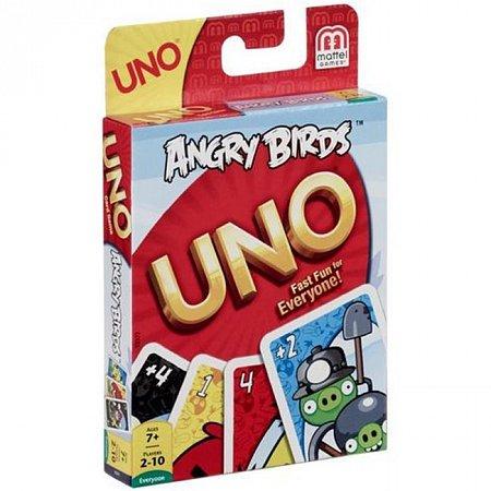 Игра UNO Angry Birds (Уно Сердитые птицы)