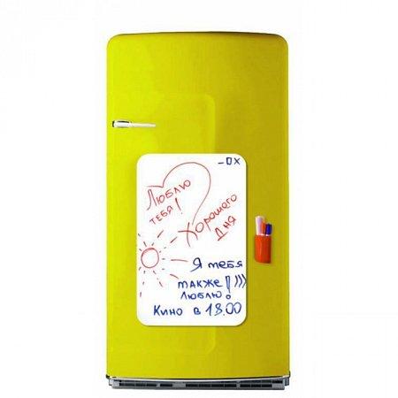 Магнитная прямоугольная доска с маркерами на магнитах, magnit-4