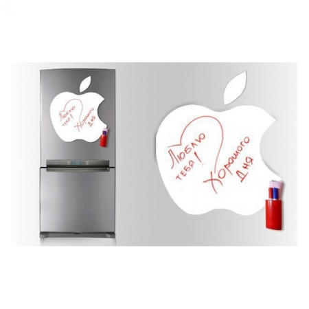 Магнитная доска с маркерами на магнитах Apple, magnit-5