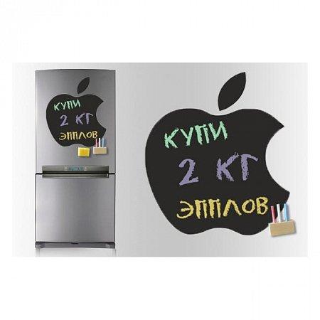 Магнитная доска грифельная с мелками Apple, magnit-8