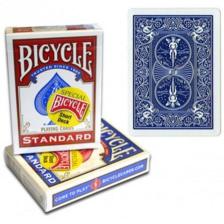 Карты для фокусов Bicycle Short Deck Blue, 1016766blue