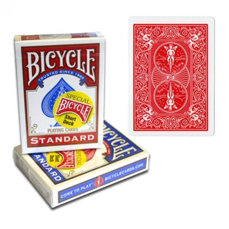 Карты для фокусов Bicycle Short Deck Red, 1016766red