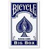 Большие карты Bicycle Big Box Blue (11,5 x 18 см), 74577blue
