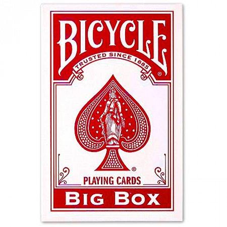 Большие карты Bicycle Big Box Red (11,5 x 18 см), 74577red