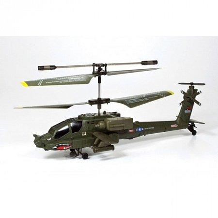 Вертолет AH-64 Apache на ИК-управлении с гироскопом, 3-канальный, Syma S109G