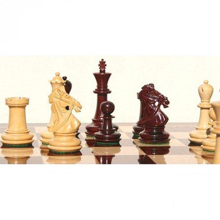 Деревянные шахматные фигуры Обузданный конь (Rein Knight)
