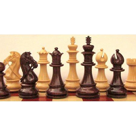 Деревянные шахматные фигуры Свадебный конь (Bridal Knight)