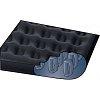 Надувной спальный матрас, одноместный, встроенный насос, Intex 67794