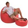 Надувное кресло с пуфиком, Intex 68558