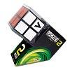 Кубик Рубика V2 с черной основой, плоский (V-CUBE 2Black)