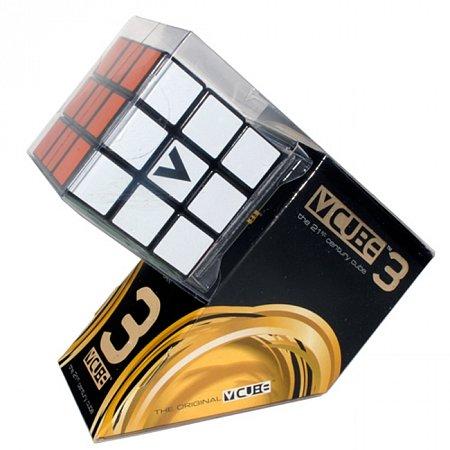 Кубик Рубика V3 с черной основой, плоский (V-CUBE 3Black)