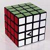 Кубик Рубика V4 с черной основой, плоский (V-CUBE 4Black)
