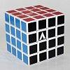 Кубик Рубика V4 с белой основой, плоский (V-CUBE 4White)