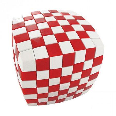Кубик Рубика V7 Иллюзия, красный (V-CUBE 7 ILLUSION Red)