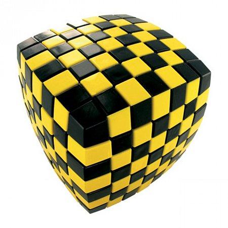 Кубик Рубика V7 Иллюзия, желтый (V-CUBE 7 ILLUSION Yellow)