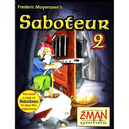 Настольная игра Saboteur 2 - Дополнение к игре Вредитель (Саботер)