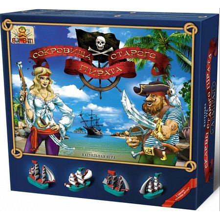 Настольная игра Сокровища старого пирата, Bombat Game