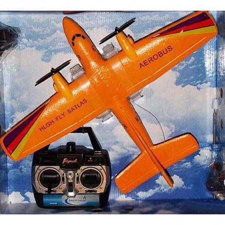 Двухмоторный самолет на радиоуправлении, 40 см (электро)