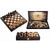 Нарды и шахматы Туристические, 27 см, 3181