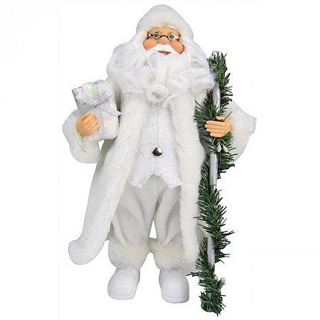 Дед Мороз с посохом, 30 см, Angel Gifts F05W-RBW-S1A12ST