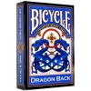 Карты Bicycle Dragon Back Blue, 1023554blue