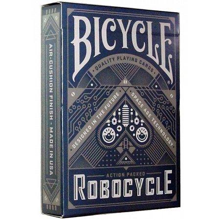 Карты Bicycle Robocycle Blue, 1024463blue