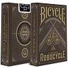 Карты Bicycle Robocycle Brown, 1024463brown