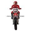 Мотоцикл Himoto Burstout MX400 2.4GHz с электродвигателем (Красный), HIM-MX400r