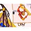 Платок женский шелковый 88*88 см ETERNO (ЭТЕРНО) ES0611-42