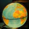Глобус напольный с подсветкой Cross Blue, 50 см (физический/политический), Tecnodidattica 5134