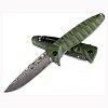 Складной нож Ganzo G620, зеленый (травление)