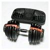 Домашняя наборная гантель (24 кг) FitLogic Adjustable dumbbell on the stand, ST9552